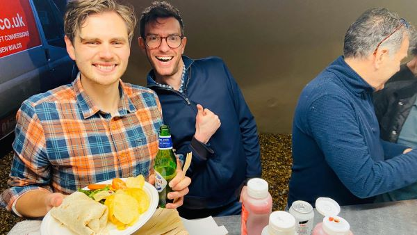 vegan street food for 30th birthday