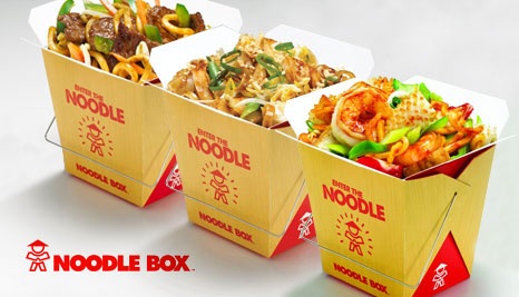 noodle box catering for a 30th birthday party
