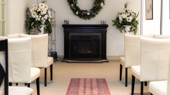 small Intimate wedding seating for coronavirus wedding
