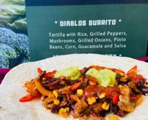 Vegan Diablos Burrito
