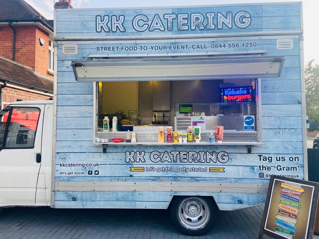 doner kebab van KK Catering